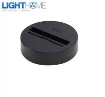 Základna pro svítidla 3F - černá