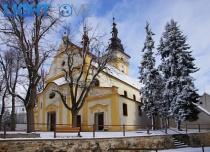 Osvětlení kostela sv. Jiljí v Moravských Budějovicích
