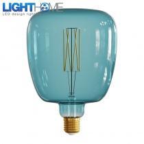 LED žárovka Bona barvy oceánu, rovné vlákno 4W E27 - stmívatelná 2200K